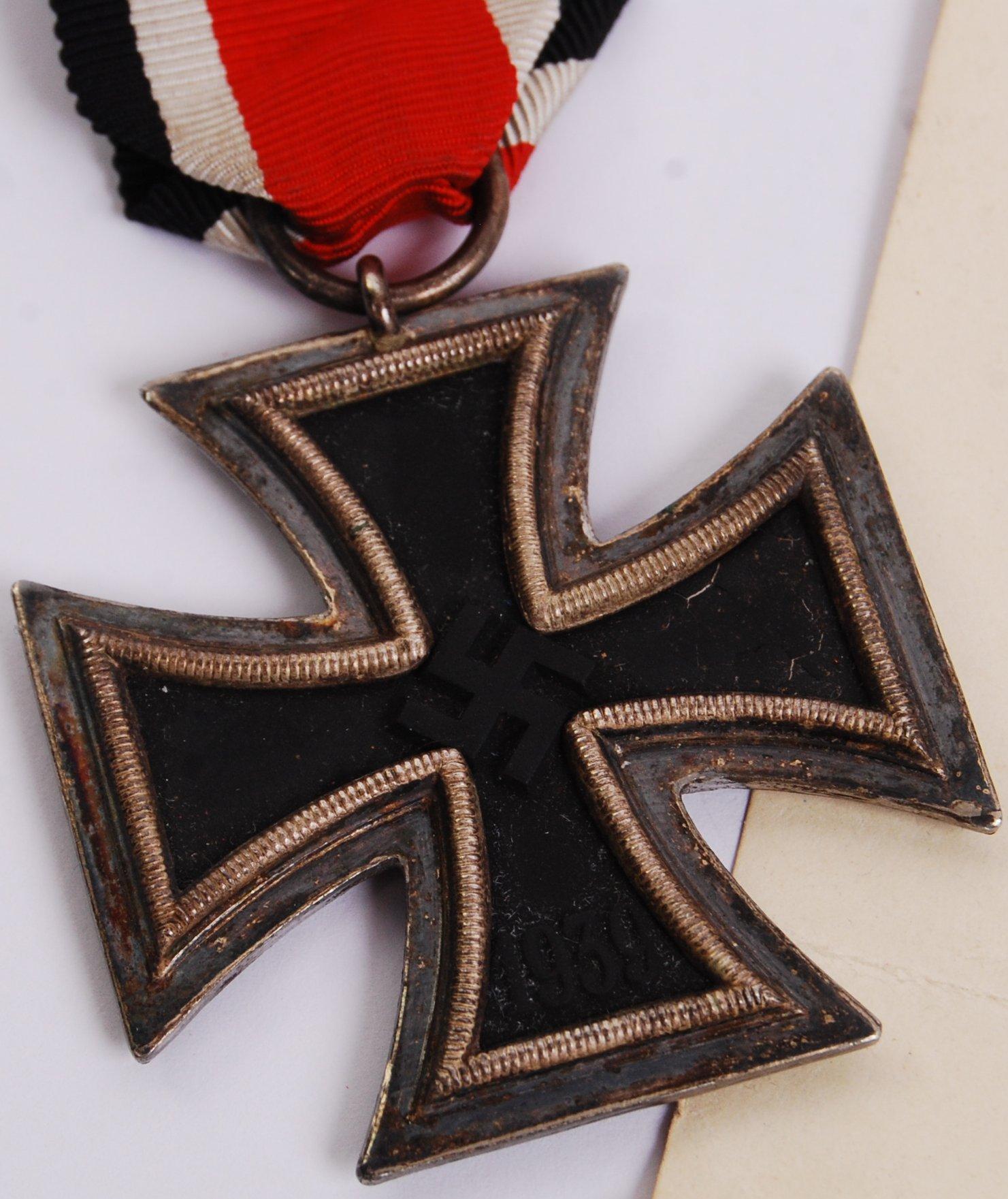 Lot 33 - WWII IRON CROSS