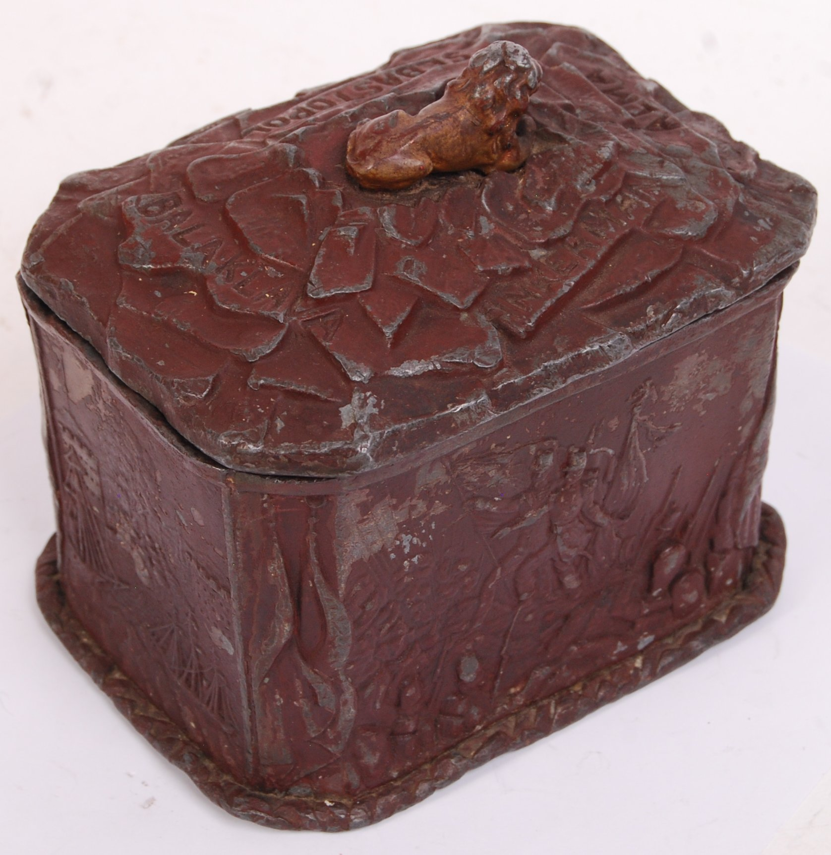 Lot 22 - CRIMEAN WAR COMMEMORATIVE TOBACCO JAR