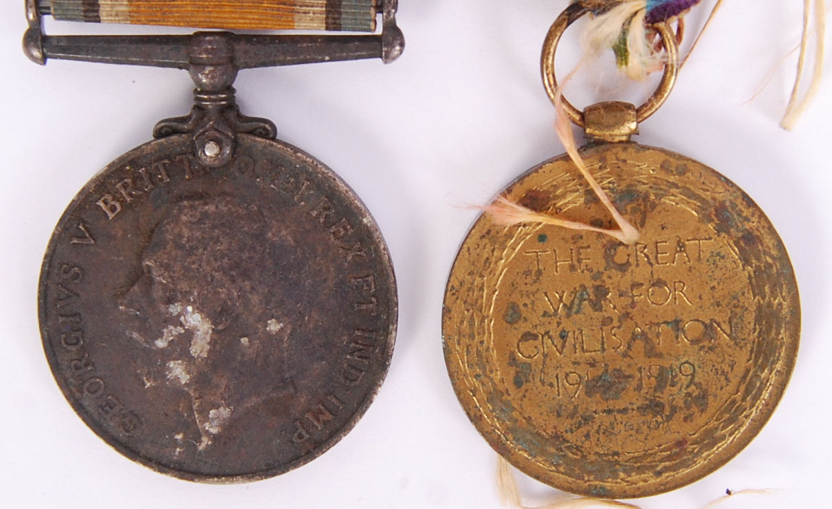 Lot 34 - WWI MEDALS