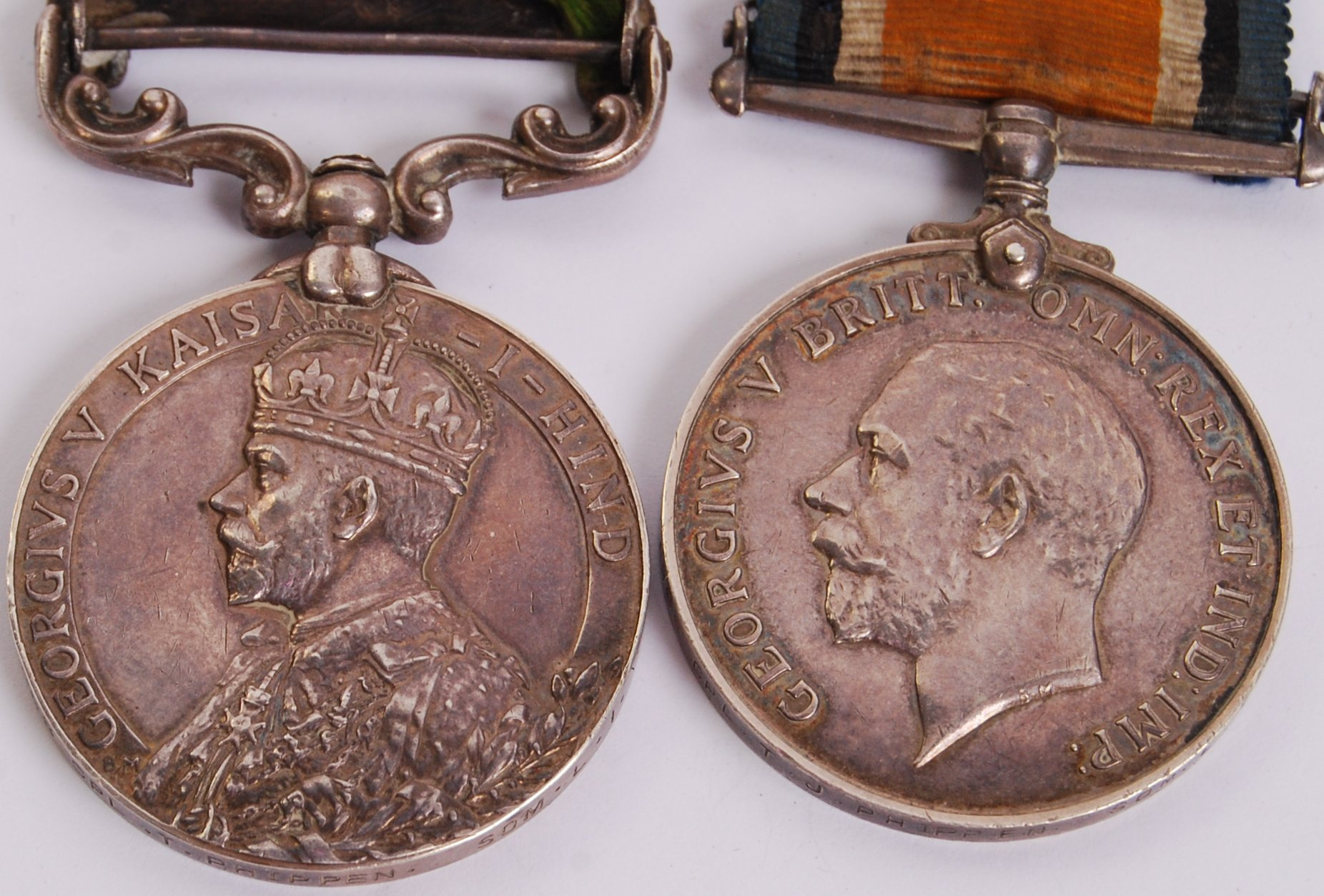 Lot 50 - WWI MEDAL GROUP & PERSONAL EFFECTS