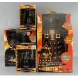 Doctor Who - Voice Interactive Dalek, Radio Controlled Dalek, Diecast Collectable Cyberman & Diecast