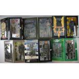 Six Action figures, U.S. Army Special Force Sniper by Hot Toys Military, Elite Force - The Green