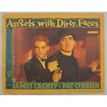 Angels With Dirty Faces (1938) US Lobby card, starring James Cagney, Warner Brothers, 11 x 14 inches