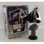 Moon Knight Painted Statue from Bowen Designs, by The Kucharek Brothers, Silver Version, 982/2000,