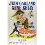 The Pirate (1948) US One Sheet film poster, starring Judy Garland & Gene Kelly, directed by