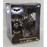 Kotobukiya - The Dark Knight Bat-Suit Artfx Statue 1/6 Scale Pre-painted Model Kit, boxed, 18 inches