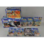 Star Wars - 40+ boxed figures, Hasbro including Saga Legends, The Saga Collection, Kenner, Revenge