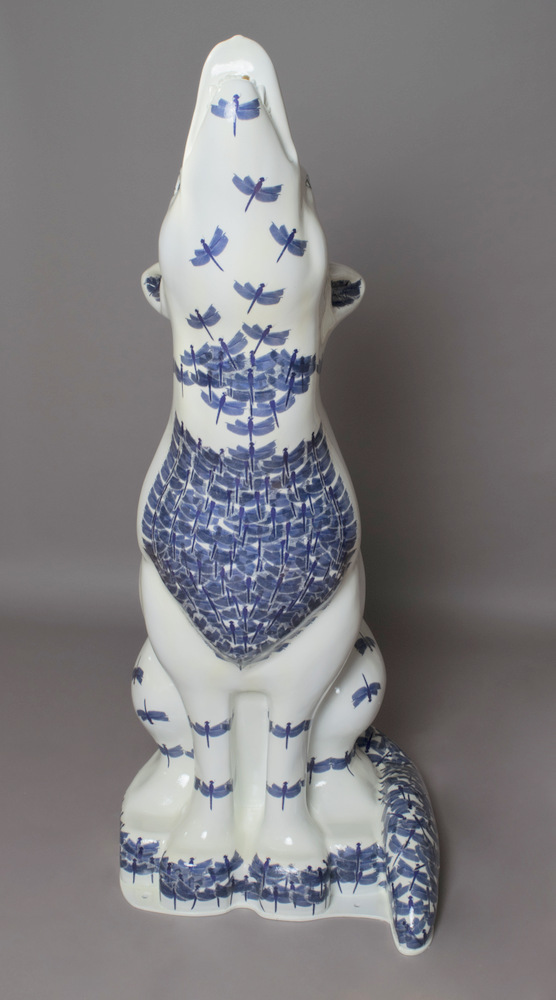 Lot 44 - Dynasty Artist: Laura Hickman & Kesia Pennington-Yates Laura and Kesia's wolf is based on ancient