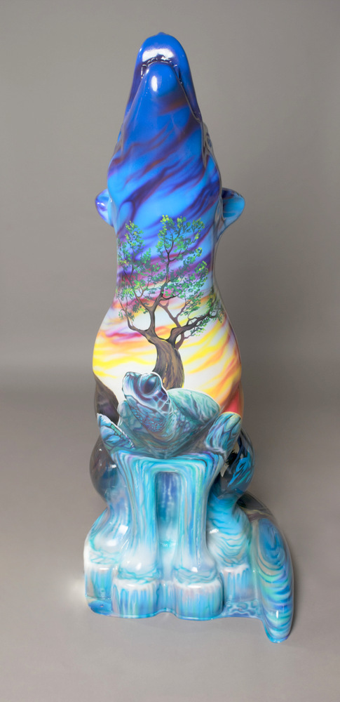Lot 52 - Sacred Grandfathers Artist: Jasyn Lucas Inspired by teachings which go back thousands of years,