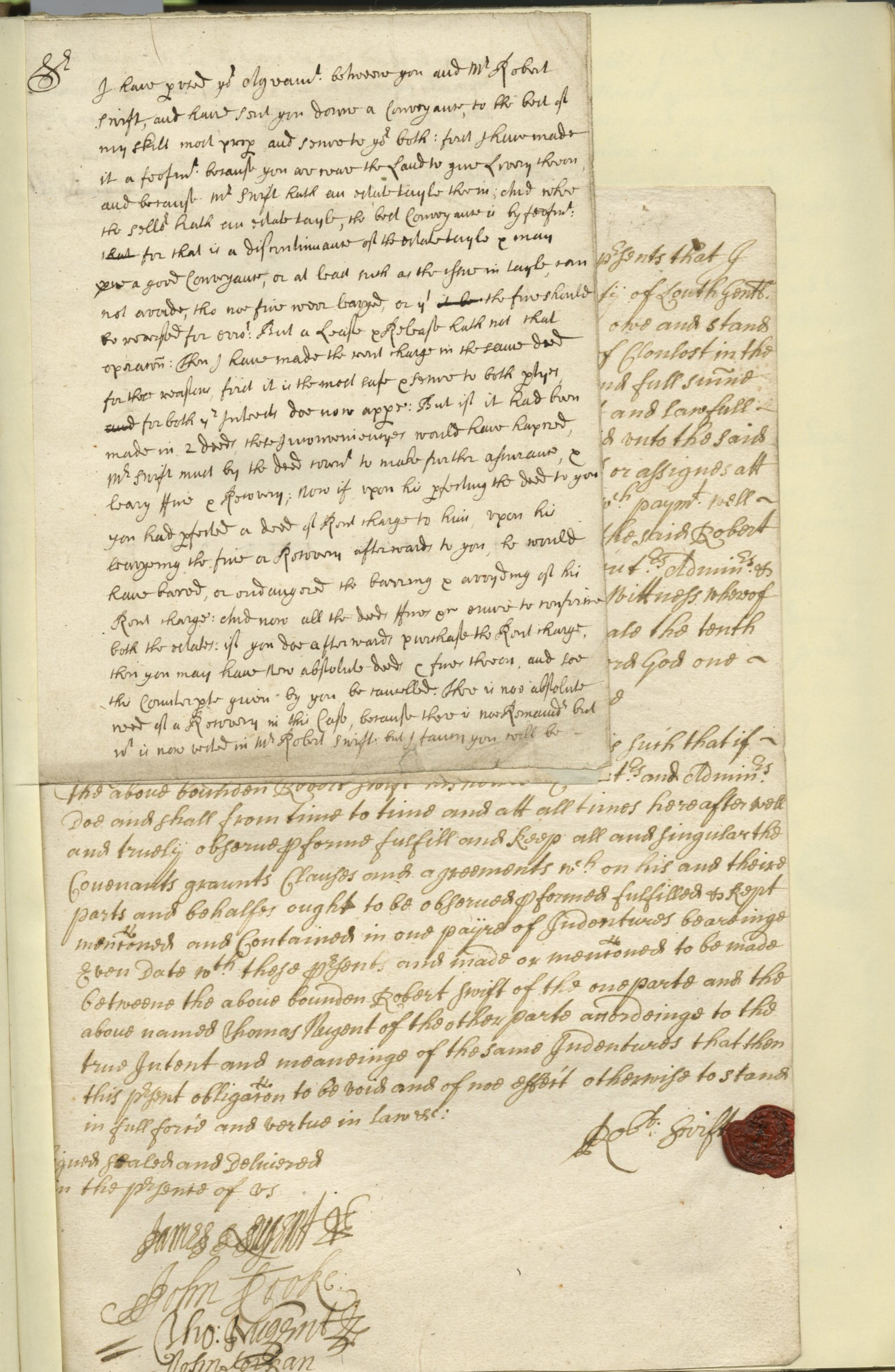 "Lot 465 - ""The Nugent Manuscript Archive"" Including Letters on 1798 Rebellion in Co."