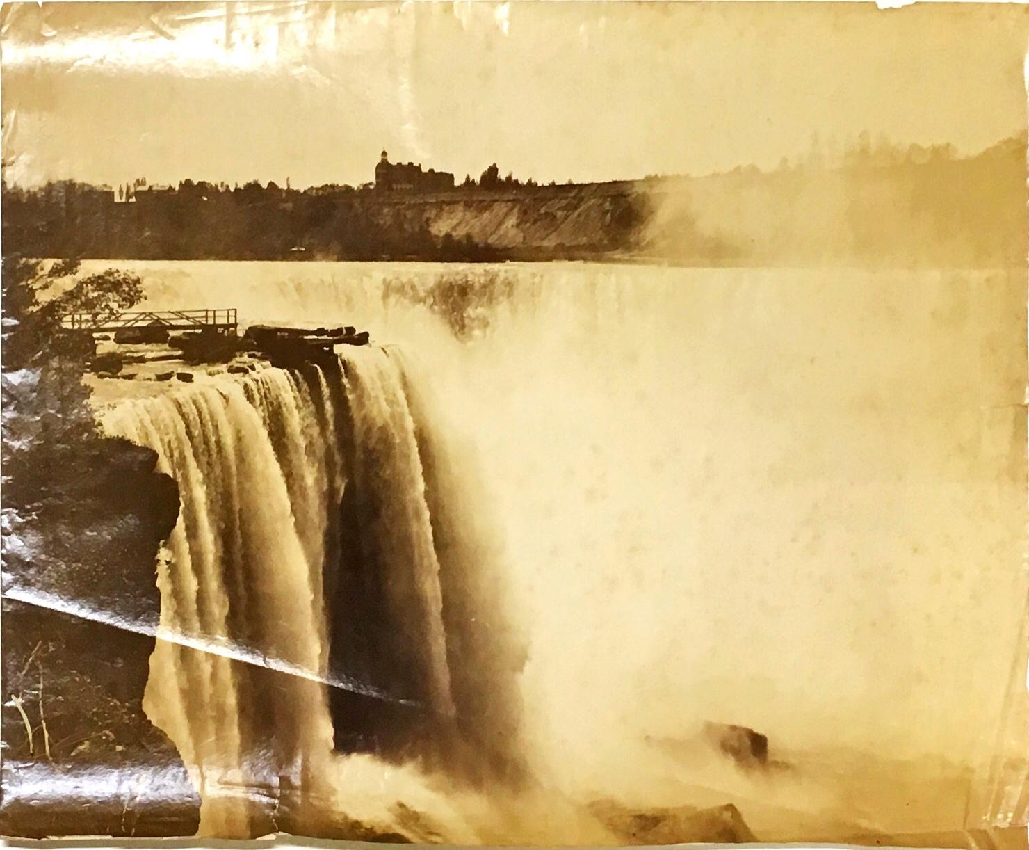Lot 493 - Rare American Photographs Niagara Falls: Zyback (J.) Photographer, Niagara.