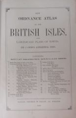 Lot 386 - Atlas: Bacon (Geo. W.) New Ordnance Atlas of the British Isles, Lg. folio L. 1883.