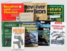 Neun Bücher zu Pistolen und Revolver G. Vander Haeghen, Cours publics sur les armes à feu