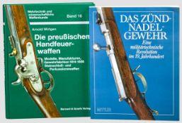 Zwei Waffenbücher, Deutschland, 19. Jhdt. Wirtgen, Arnold, Die preussischen Handfeuerwaffen, Bonn