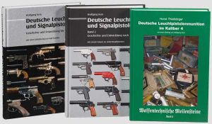 """Waffenbücher über Signalpistolen, Kern und Thielbörger Wolfgang Kern, """"Deutsche Leucht- und"""