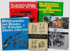 Waffenbücher zu Militär, Deutschland bis 1945 Eckardt-Morawietz, Die Handwaffen des
