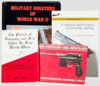 Vier Bücher zu Militärpistolen und -revolver Still, Jan, The pistols of Germany and its Allies in