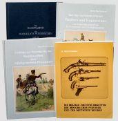 Hans Reckendorf - Waffenbücher, Deutschland Die Militär-Faustfeuerwaffen des Königreiches Preussen