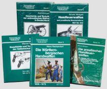 Fünf Bände zu Wehrtechnik und wissenschaftlicher Waffenkunde Bd. 1, Rolf Wirtgen, Geschichte und