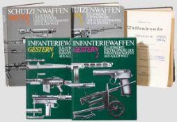Fünf Bände zu Waffenentwicklung international Rudolf Schmidt, allgemeine Waffenentwicklung für