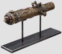 Renaissance Miniatur-Kanonenrohr, Labenwolf-Werkstatt, Nürnberg, Mitte 16. Jh. Gegossenes,