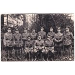 Army Service Corps 1st/3rd West Lancs Field Ambulance - quality unit (II) photo postcard - annotated