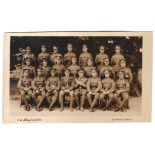 4th Hants Regiment BN Musketry Instructors, Sutton Veny - superb m/s dated and signed 26/6/17. Photo