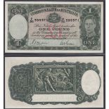 Australia-Commonwealth Bank 1939, One Pound,P30399371, Sheehan-McFarlane signatures, R29L Pick 26a,