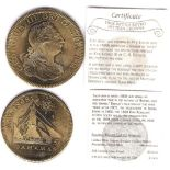 Great Britain 1808-Pattern Crown Retro with certificate,UNC