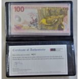 New Zealand-Reserve Bank 2003 Banknotes set Special Edition, 5,10,20,50 and 100 Dollars, all