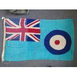 WWII RAF Battle of Britain Advanced-Station Ensign Flag c1940;