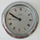 "A small bulkhead clock by Martin ""Marpro"" Company English c1940s;"