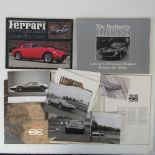 A quantity of Ferrari themed books; 'The Early Berlinaettas and Competition Coupes',