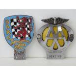 British Automobile Racing Club - An early post-war member's car club badge;