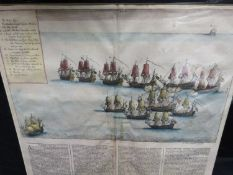 "WENZAL HOLLAR FROM JOHN OBILBY AFRICA. C. 1690 ""A TRUE RELATION OF CAPT. KEMPTHORN'S ENGAGEMENT,"