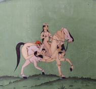 A GROUP OF INDO PERSIAN AND FAR EASTERN MANUSCRIPTS AND ILLUSTRATIONS, TO INCLUDE FIVE EROTIC