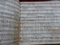 TWO EARLY PRINTED MUSIC SCORES, MOZART'S DON GIOVANNI AND BEETHOVEN'S FIDELEO.