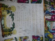 A QUANTITY OF SCRAP ALBUM PAGES TO INCLUDE VARIOUS SUBJECTS AND BOOK PLATES, MOSTLY 19TH.CENTURY.