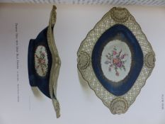 A COLLECTION OF ART RELATED BOOKS TOGETHER WITH WORCESTER PORCELAIN, HOBSON, LONDON, 1910 AND A