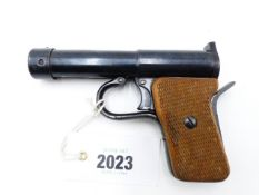 A TELL MKII AIR PISTOL, IN .177 CALIBRE