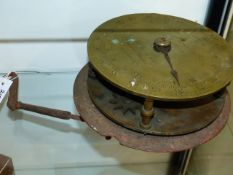 A STEVENS & SON ENGINEER'S BRASS DIAL SCALE?.