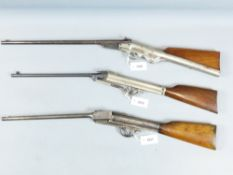 A GEM STYLE AIR RIFLE, IN .177 CALIBRE, NO VISIBLE MARKINGS