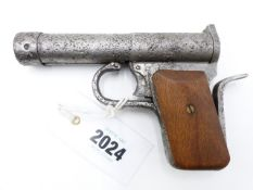 A RELIC TELL MKII AIR PISTOL, IN .177 CALIBRE