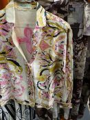 VINTAGE TIMNEY FOWLER BLOUSES, ETC TOGETHER WITH A DRESS AND BLOUSES BY EMILIO PUCCI.