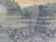 CHARLES JOHNSON PAYNE 'SNAFFLES' (1884-1967) (ARR), 'THAT FAR, FAR-AWAY ECHO' AND 'TALLY-HO BACK' (