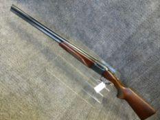 SHOTGUN, BAIKAL 12G O/U BLNE DOUBLE TRIGGER SERAIL NUMBER 012143 ( ST NO. 3304)