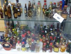 A LARGE SELECTION OF MINIATURES.