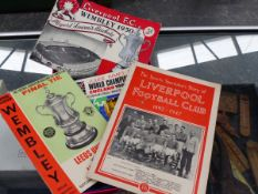 FOOTBALL PROGRAMMES AND SOUVENIRS.
