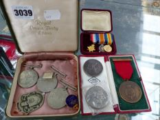 VARIOUS MEDALS, ETC.