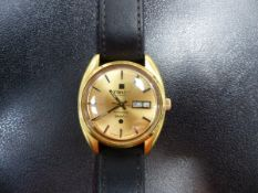 A GENTS AUTOMATIC SEASTAR TISSOT WATCH.